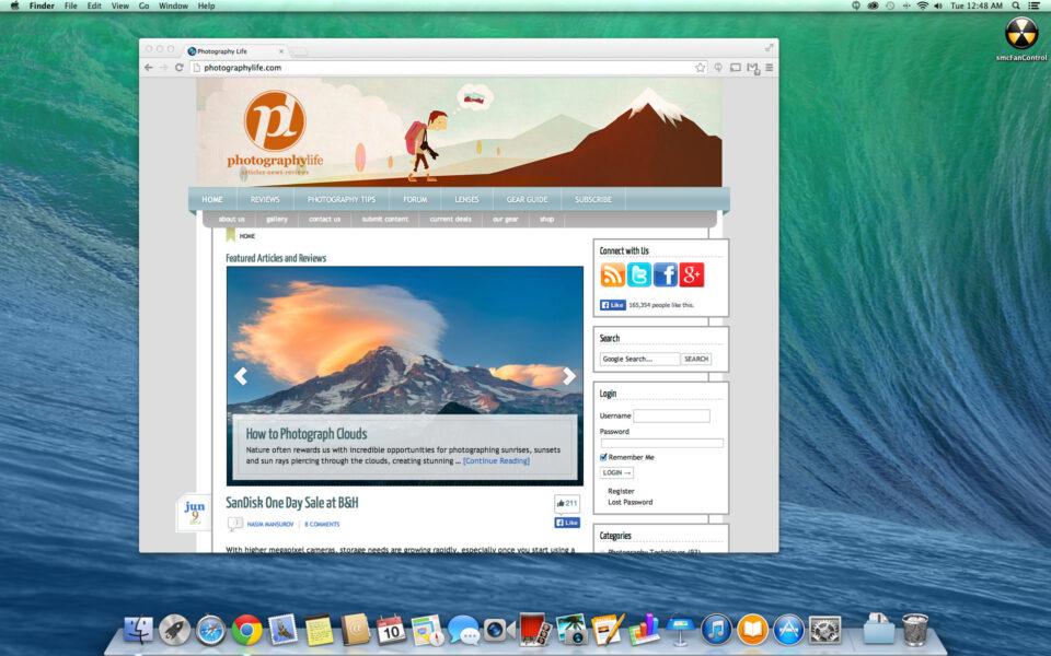 Mac Pro Desktop Screenshot