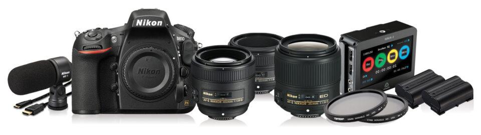 Nikon D810 Film Maker's Kit