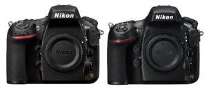 Nikon D810 vs D800 / D800E Dynamic Range Comparison