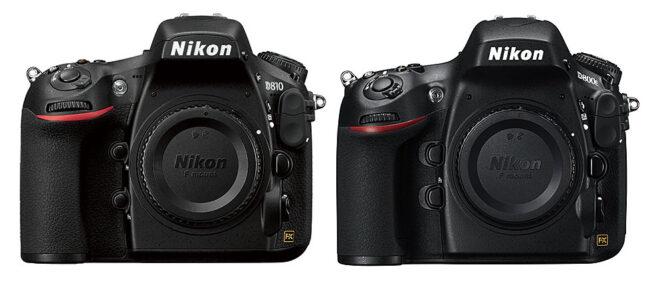 Nikon D810 vs D800 / D800E