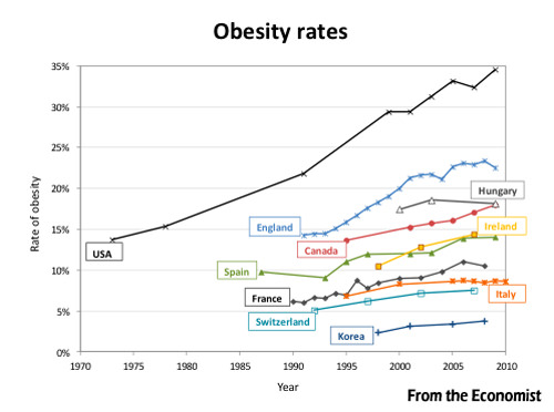 Obesity Increase