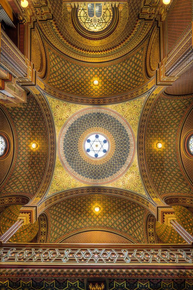 Praha Dome of the Spanish Synagogue
