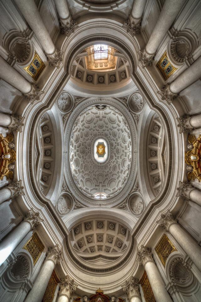 Rome Church Quatre Fontane