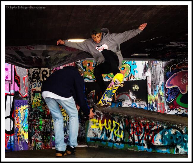 Skater in Motion #3