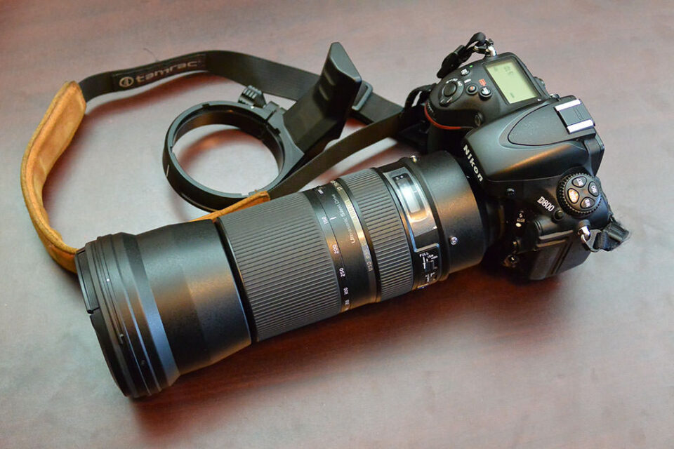 Tamron 150-600mm on D800