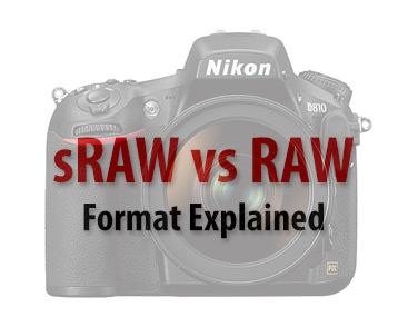 sRAW vs RAW Format