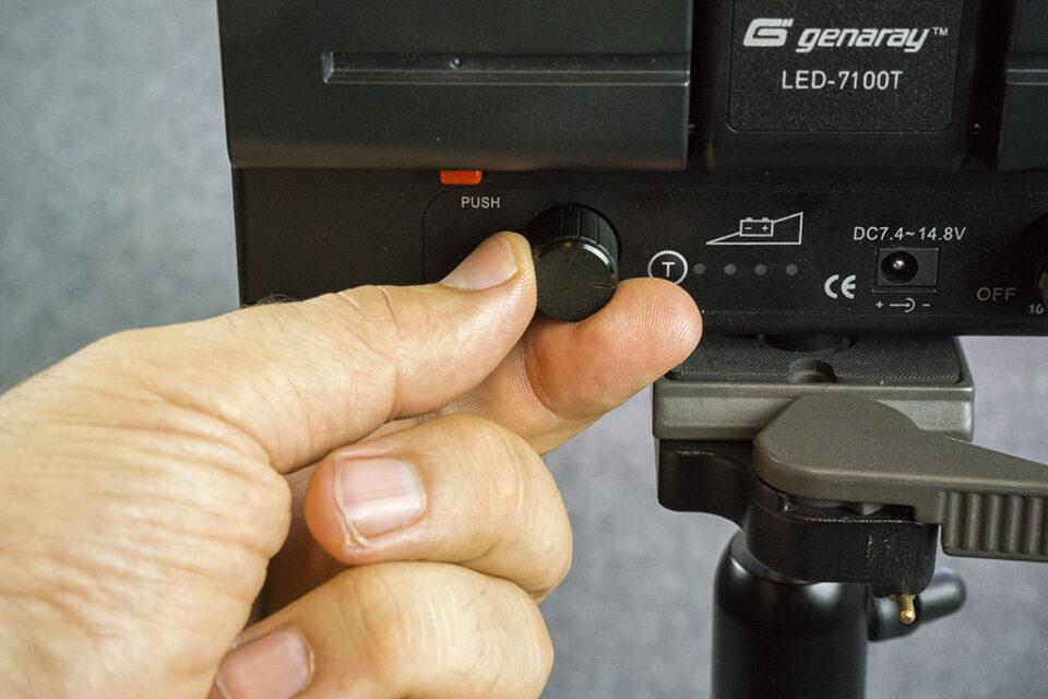 Genaray LED 7100T (6)