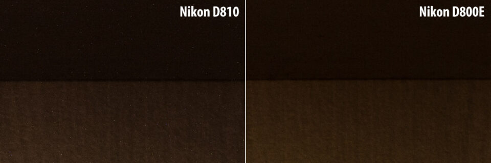 Nikon D810 Thermal Noise Issue