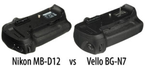 Nikon MB-D12 vs Vello BG-N7 for Nikon D810