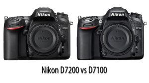 Nikon D7200 vs D7100