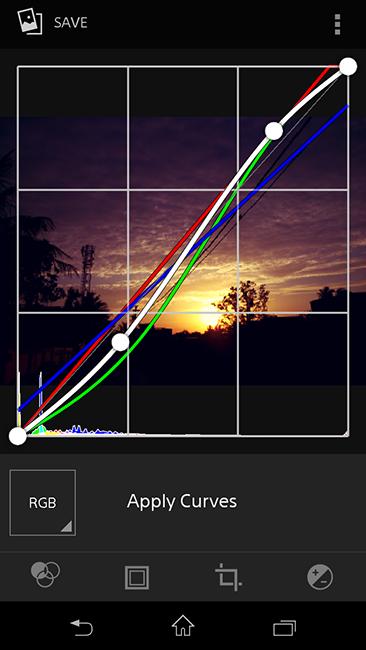 Curves Adjustment