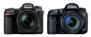 Nikon D500 vs Canon 7D Mark II