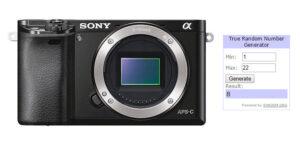 Winner of the Sony A6000