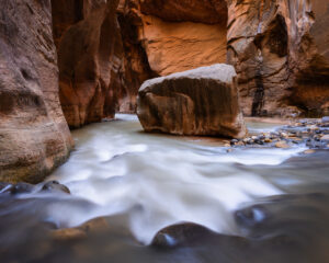 Photographing the Narrows in Zion National Park