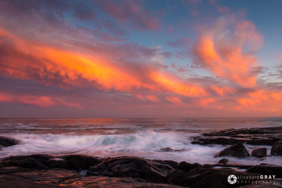 Sunset Cape Neddick, Maine