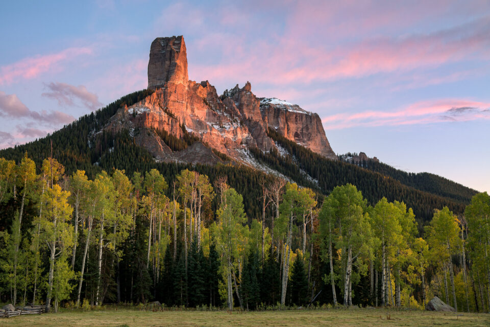Chimney Rock Colorado, Captured with the Nikon D850 high-resolution DSLR.