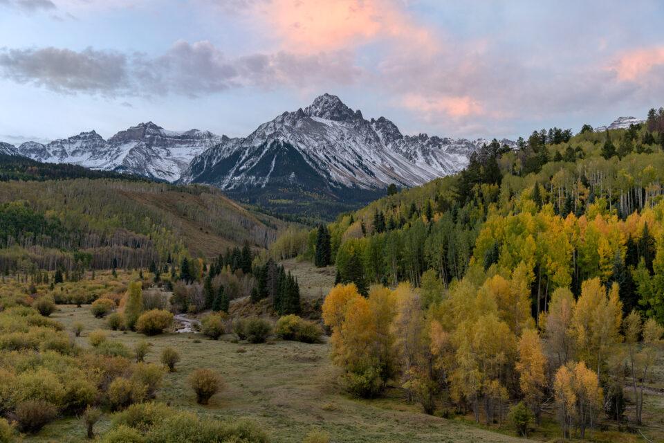 Mt Sneffels en otoño