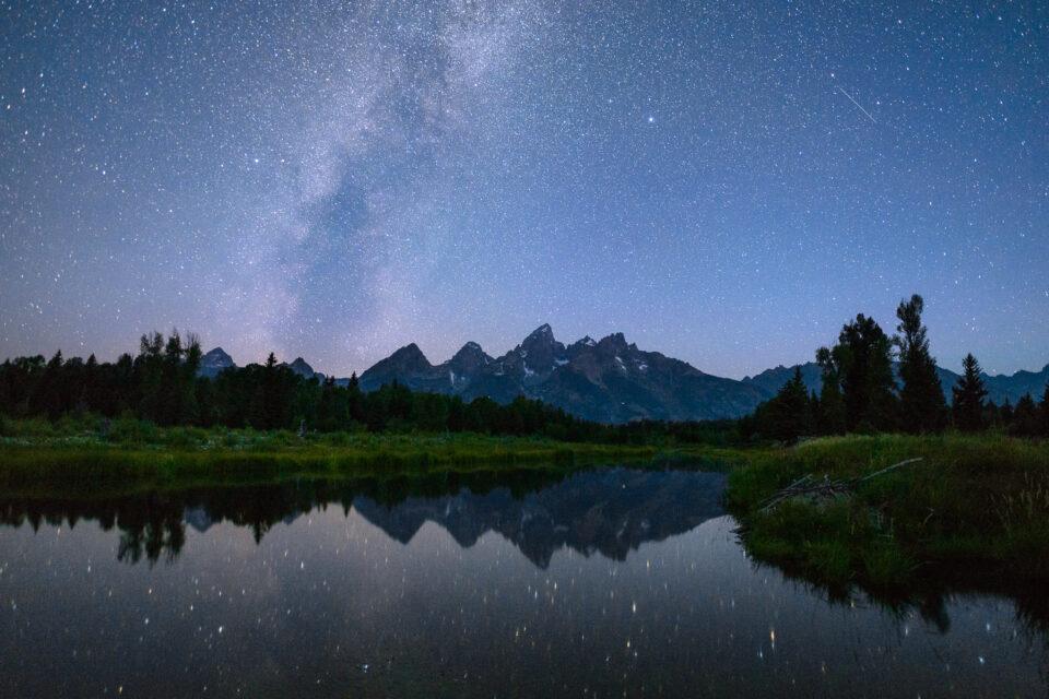 Milky Way landscape photo
