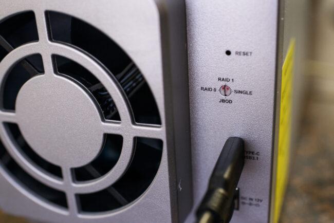 RAID Configuration Dial D2-310