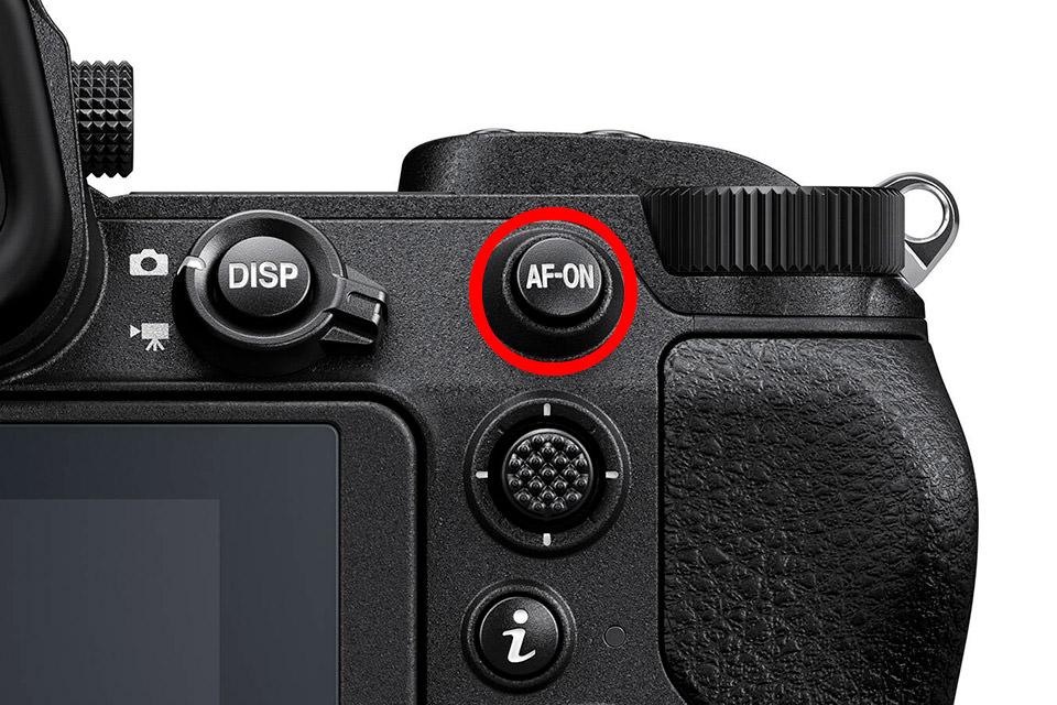 Back-Button Focus Close-Up