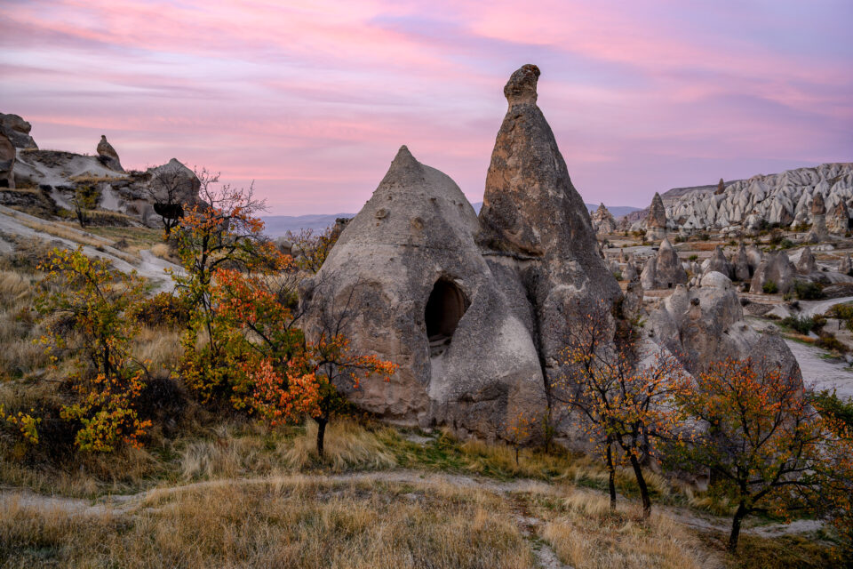 Cappadocia, captured with Nikon Z7 - another great camera for landscape photography needs
