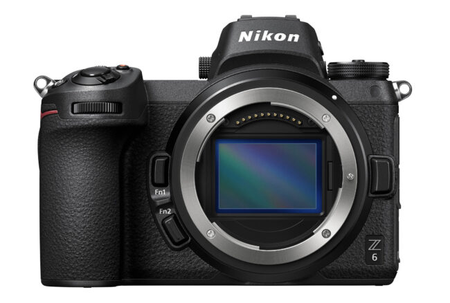 The Nikon Z6 is a lightweight, 24-megapixel mirrorless camera with Nikon's new Z lens mount.