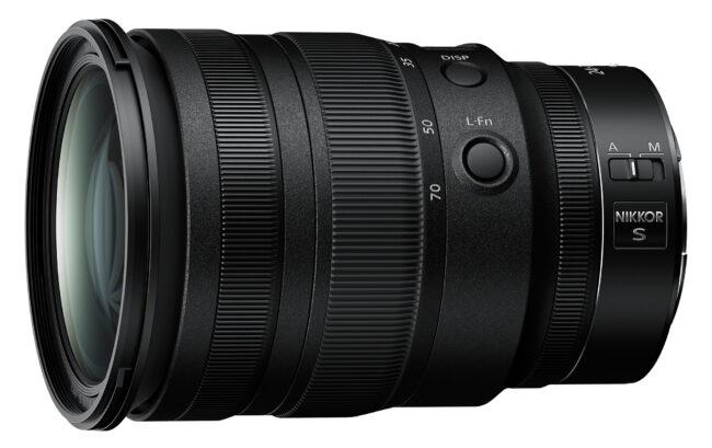 Nikon Z 24-70mm f/2.8 S Custom Fn Buttons