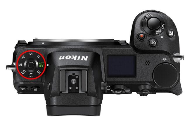 Nikon Z6 II PASM Dial