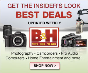 B&H Photo Video Banner