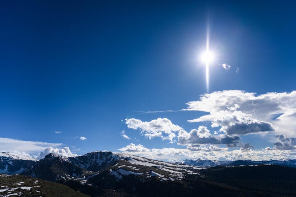 Mechanical Shutter Sunstar Flare Example