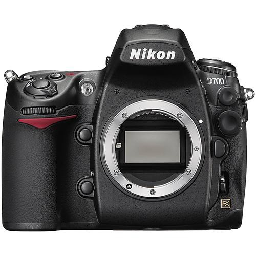 Nikon's first consumer FX DSLR was the 12-megapixel D700, now discontinued.