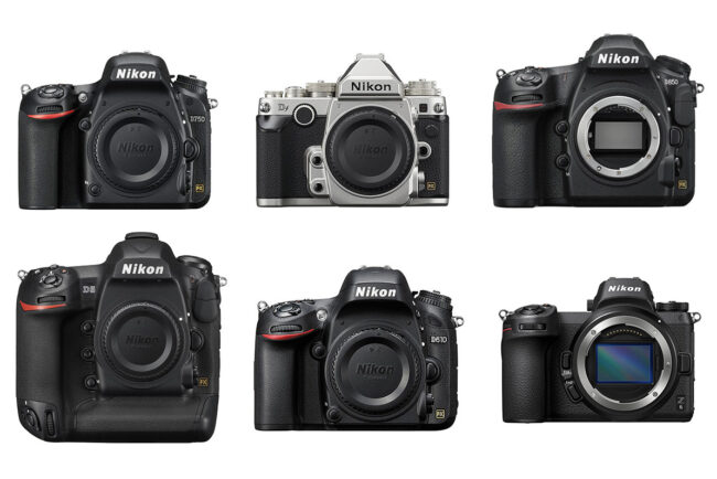 All Nikon Full-Frame Cameras as of 2021, Compared