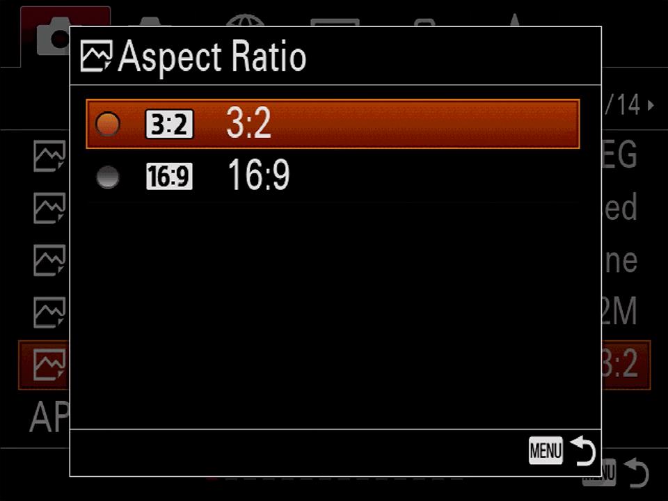 Sony-Menu-Aspect-Ratio