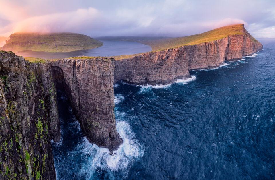 Faroe Islands Landscape, captured with the Fuji GFX 100