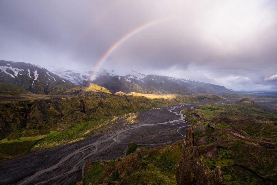 8 Imagen final de Þórsmörk Rainbow