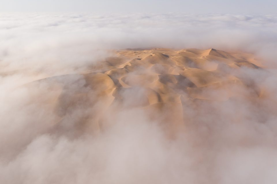 First Liwa Desert Photo with Depth and 3D Feel
