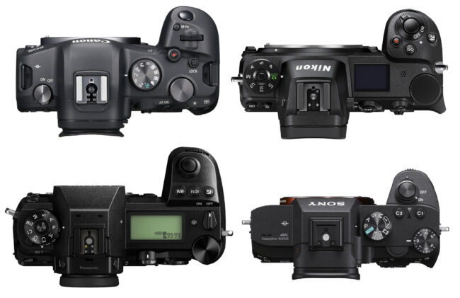 Canon EOS R6 vs Nikon Z6 II vs Panasonic S1 vs Sony A7 III Top