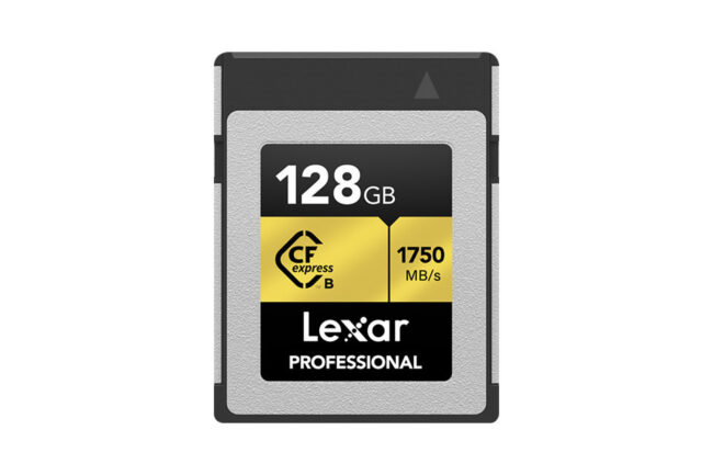 Lexar 128 GB CFexpress Memory Card Review