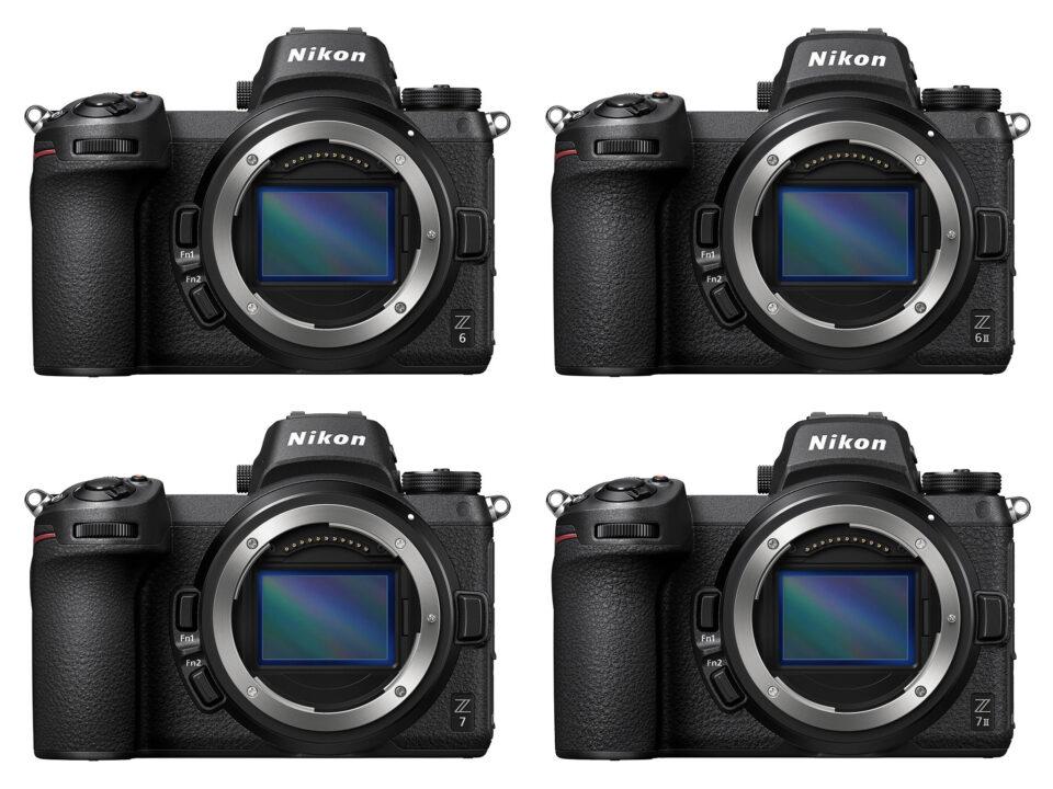 Nikon Mirrorless Comparison