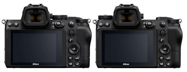 Nikon Z5 vs Z6 Back