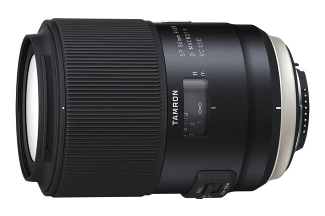 Tamron SP 90mm f/2.8 Di Macro 1-1 VC USD