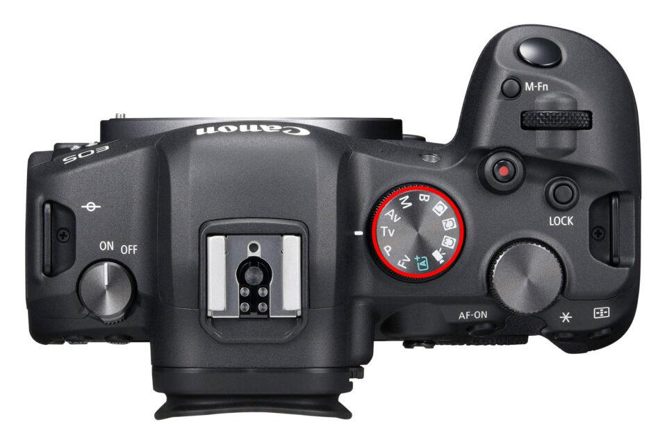 Canon EOS R6 PASM Dial