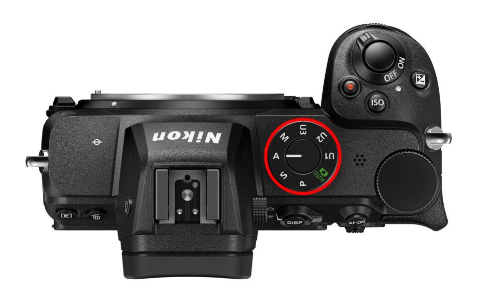 Nikon Z5 Top PASM Dial