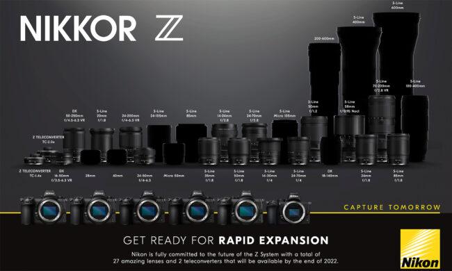 The Upcoming Nikon Z Lenses
