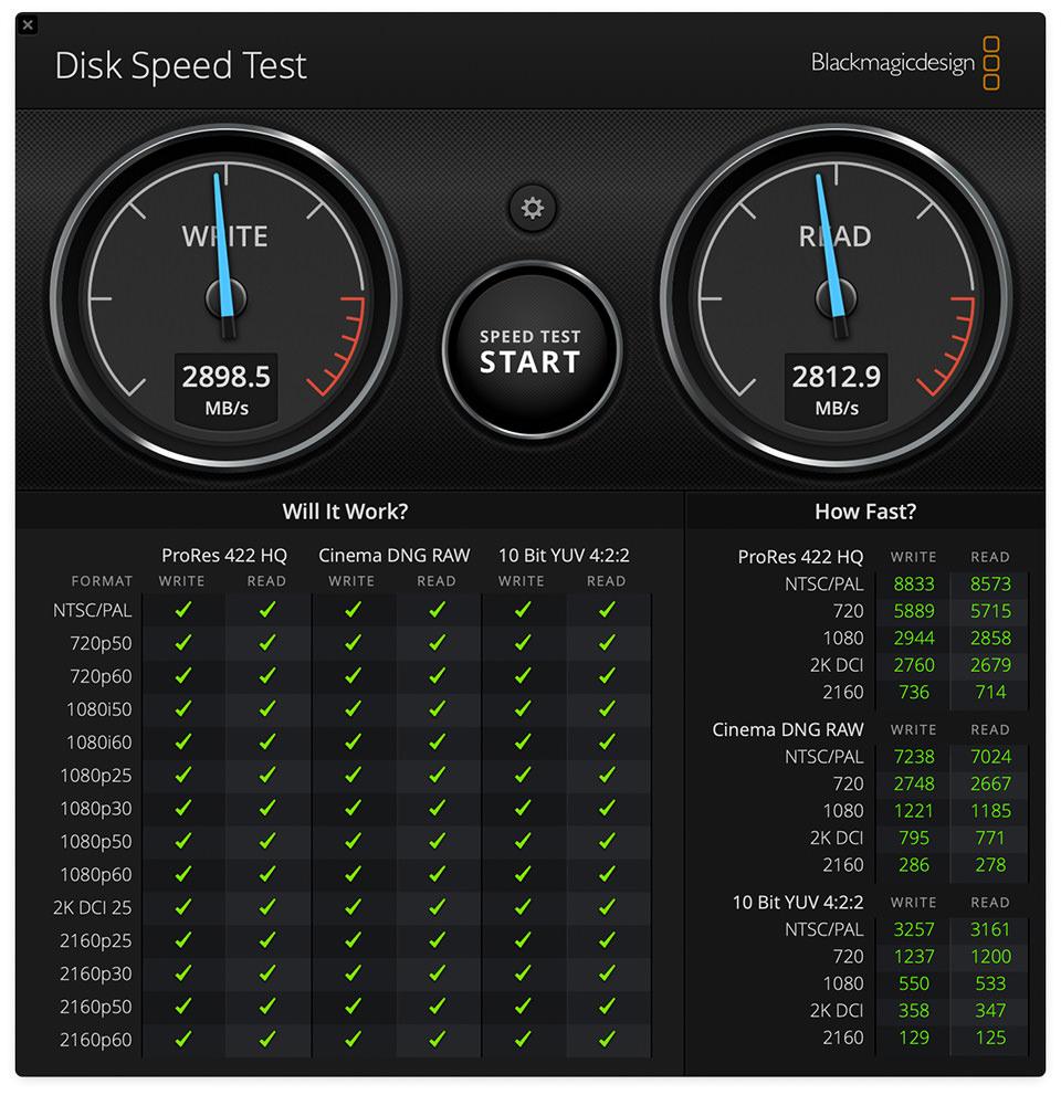 MacBook Air M1 Storage Performance