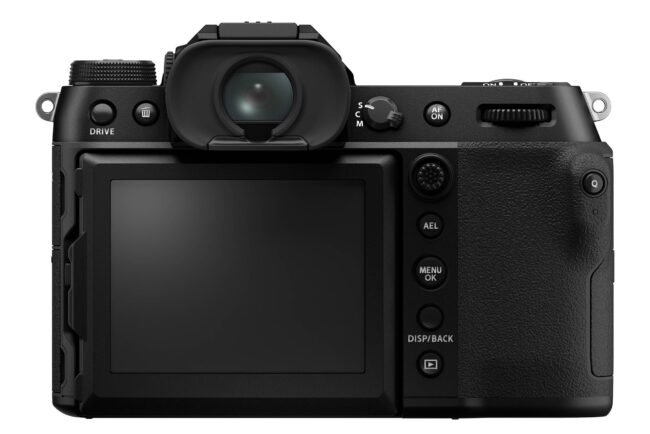 Fujifilm GFX 100S Back