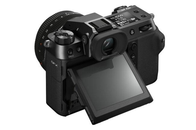 Fujifilm GFX 100S Back LCD View