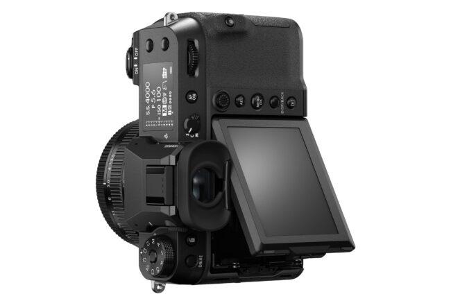 Fujifilm GFX 100S LCD Vertical
