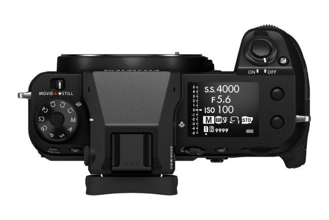 Fujifilm GFX 100S Top