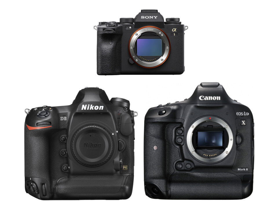 Sony A1 vs Nikon D6 vs Canon 1D X Mark III
